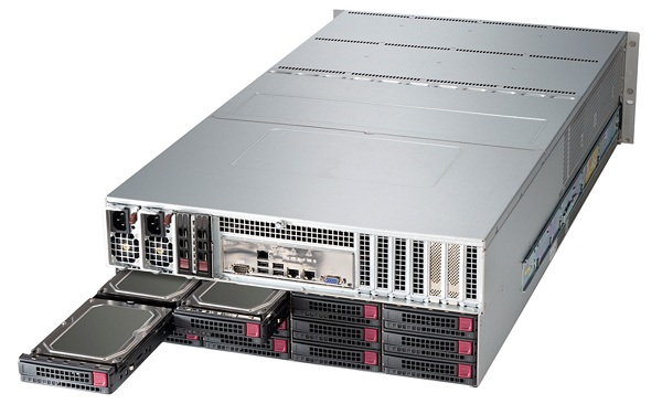 Supermicro SSG 6047R E1R72L rear